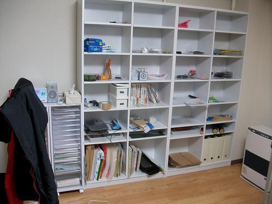 本棚と書類棚