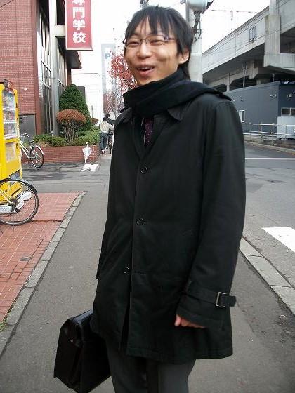 行政書士の安田くん