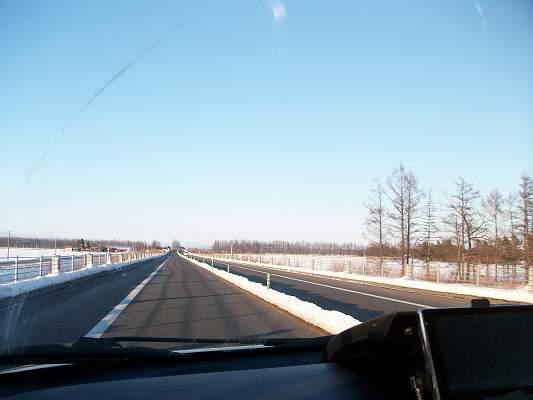 札幌から帯広までの高速道路