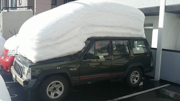 札幌の降雪状況