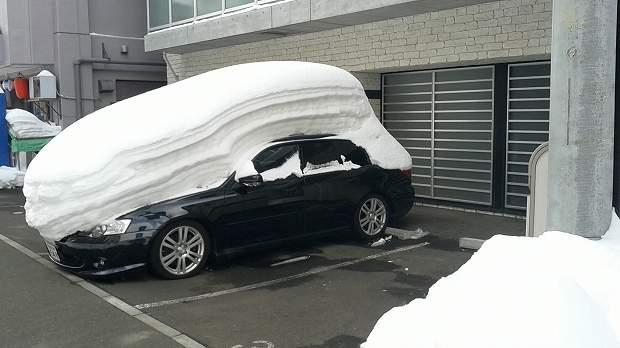 札幌の雪の状況