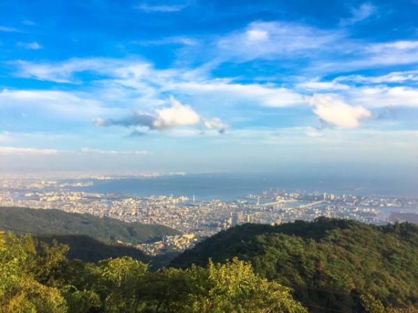 神戸市、六甲山